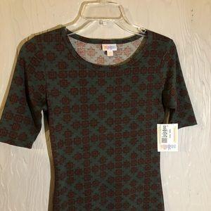 NEW W/ TAGS LuLa Roe midi stretch t shirt dress